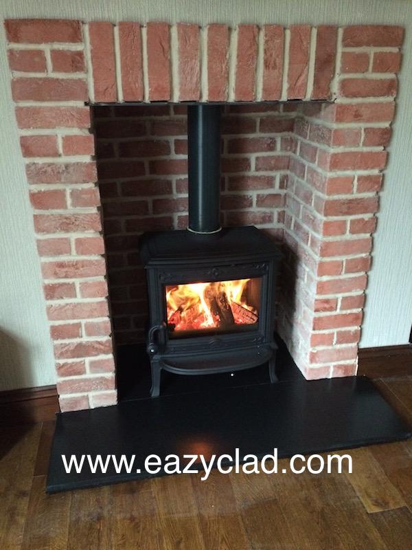 Cutting Wood Stove Fire Bricks