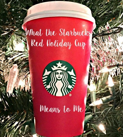 What the Starbucks Red Holiday Cup Means to Me