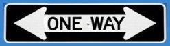 one way two ways