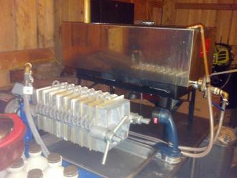 maple syrup filtration system
