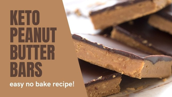 Keto Peanut Butter Bars