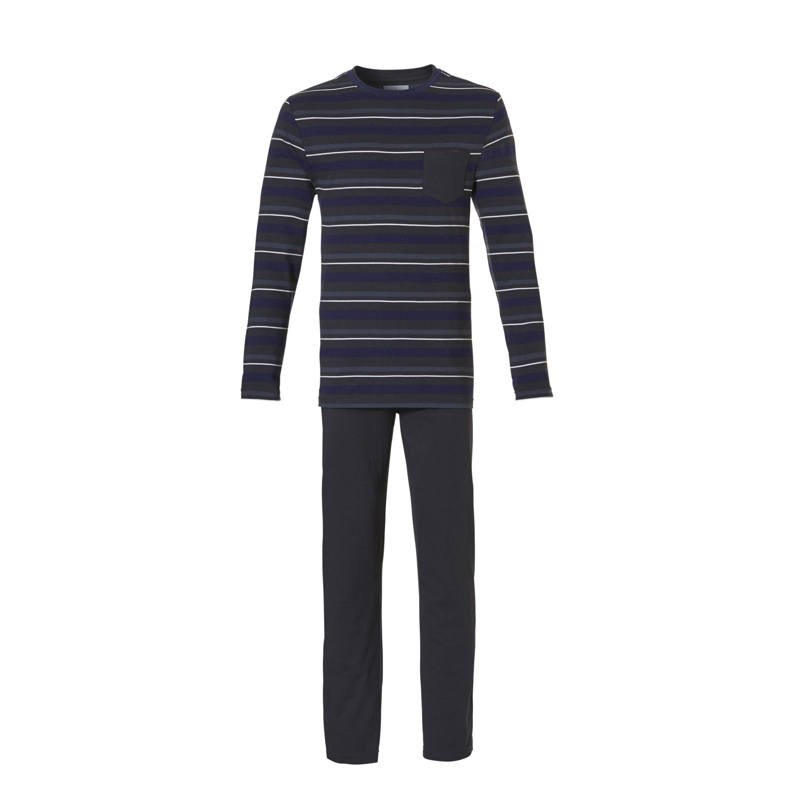 Ten Cate heren Pyjama Dark Stripes