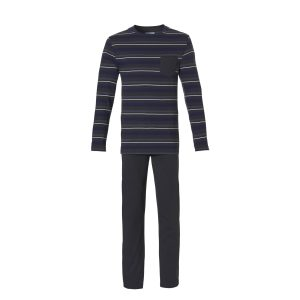Ten Cate heren Pyjama Dark Stripes
