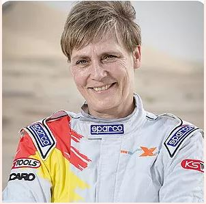 Jutta Kleinschmidt, Founder, Green Energy Wallet (Only Woman Dakar Rally Car Racing Winner)