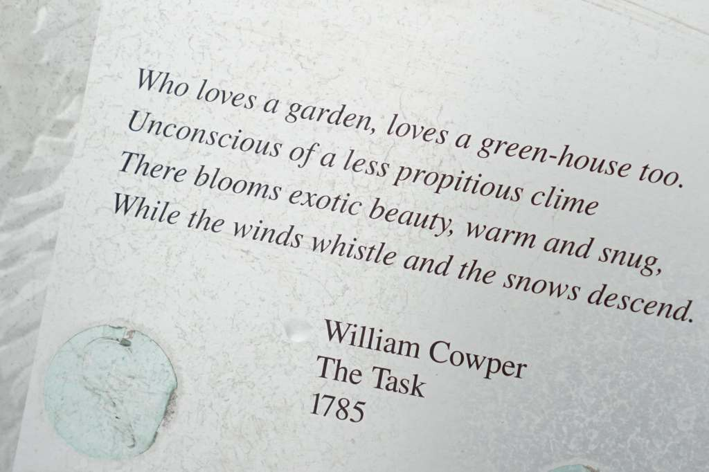 Garfield Park Conservatory Poem