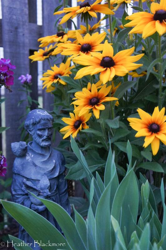 St. Francis garden art