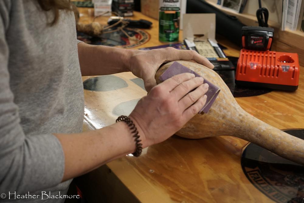 sanding gourd