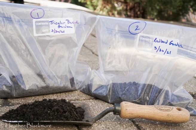 soil test sample bags