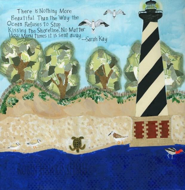 Hatteras Shoreline with Watermark