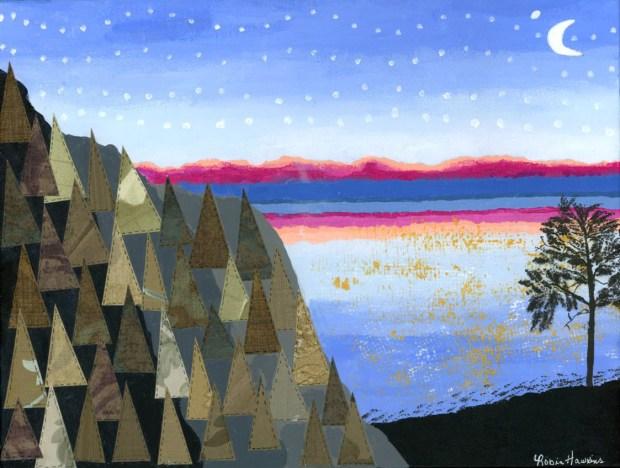 Sunrise at Frenchman Bay - Original