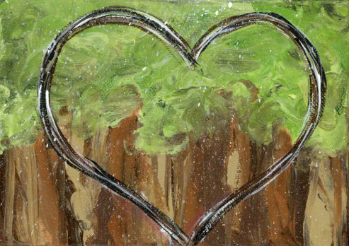 Forest Heart Reproduction