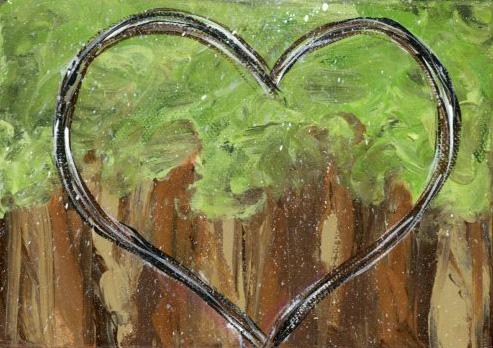 Forest Heart Original