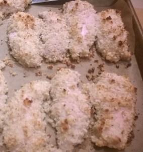 Crunchy Parmesan Chicken Strips