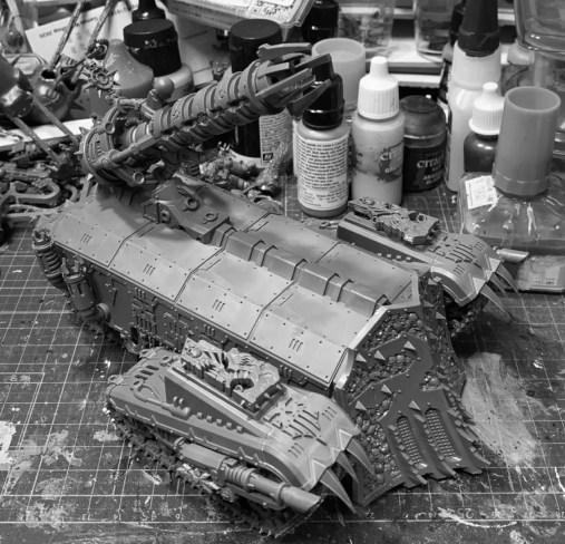 Conversion Typhon Heavy Siege Tank