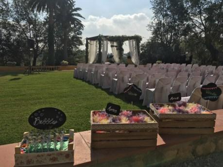 decoración original ceremonia civil