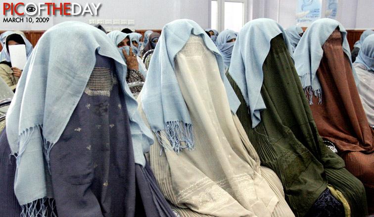 Afghan Women Celebrate Int'l Women's Day