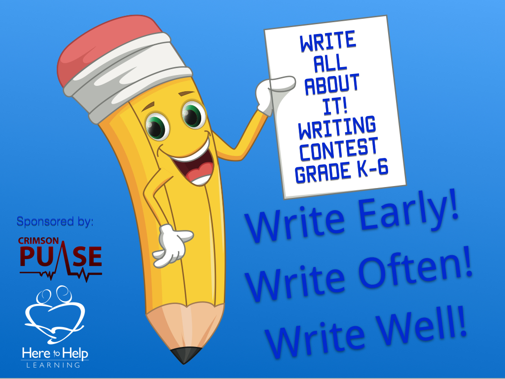Writing Contest For Grades K 6