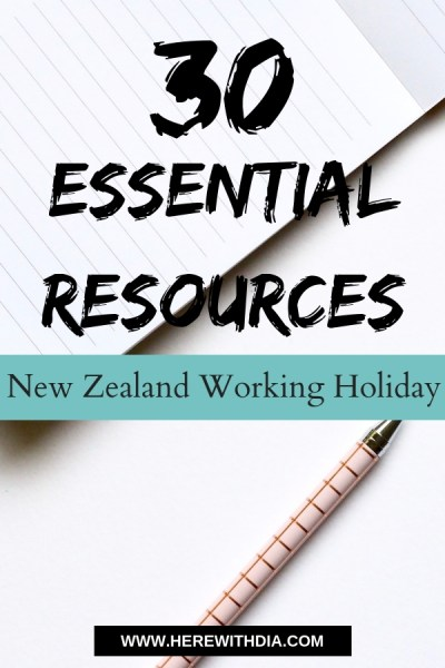 30 essential resources for your new zealand working