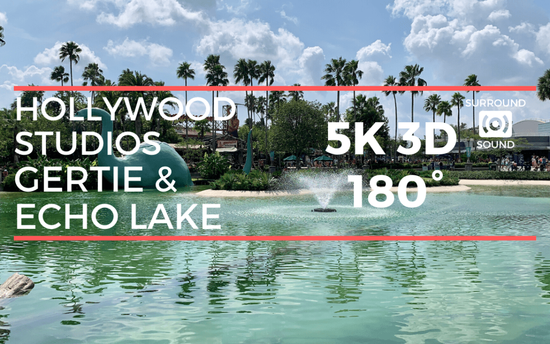Hollywood Studios: Gertie & Echo Lake (5K 3D 180°)