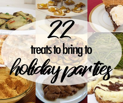 22 Treats to bring to Holiday Parties