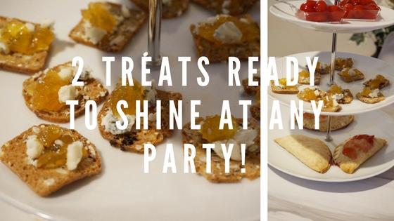 2 Treats Ready to Shine at any Party.blog title