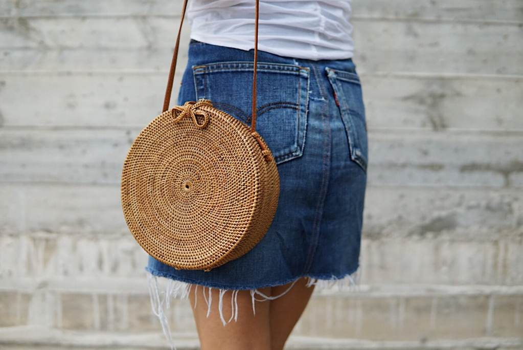 2018 Trends: Basket and Net Bag - Her Fashioned Life