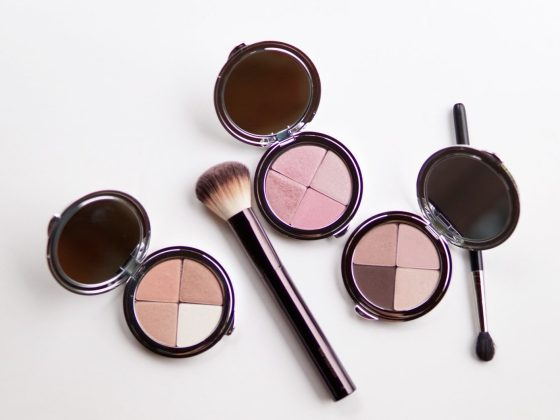 beauty cocktail eye shadow, blush, bronzer