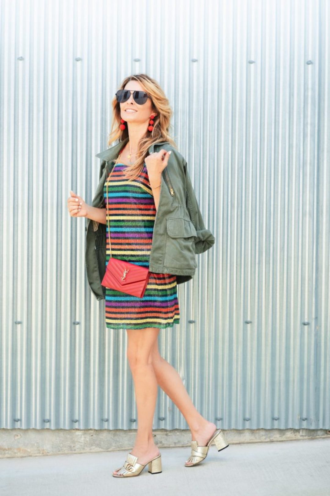 How To Style Rainbow Print Fashion Tips