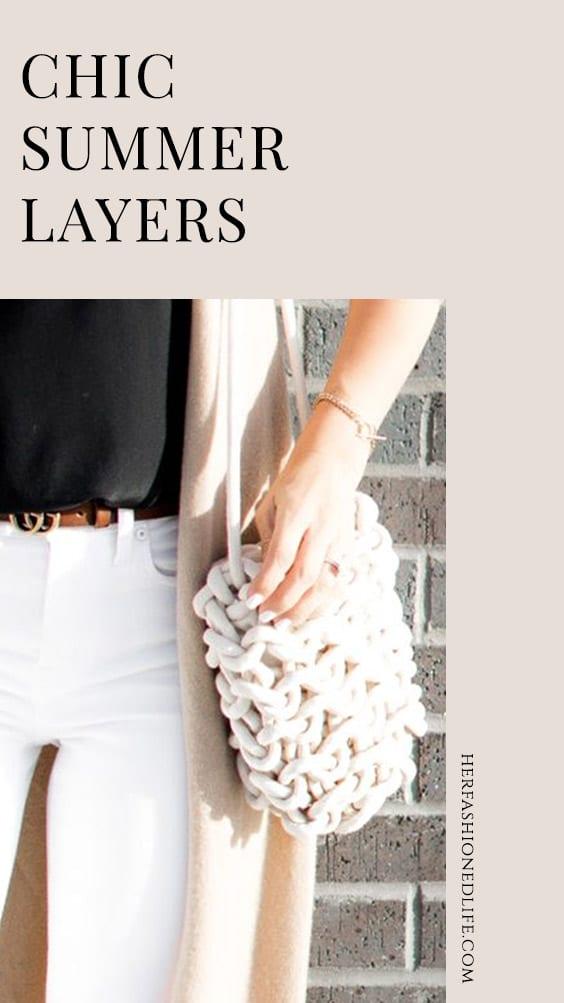 Chic Summer Layers Pinterest Button