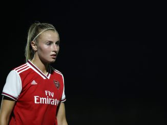 Leah-williamson-in-action-for-arsenal