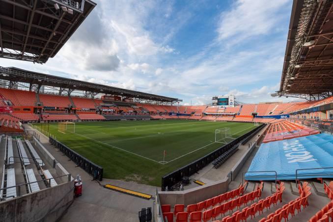 BBVA Stadium in Houston, Texas.