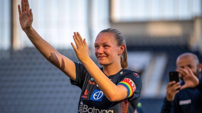 Frida Maanum bids farewell.
