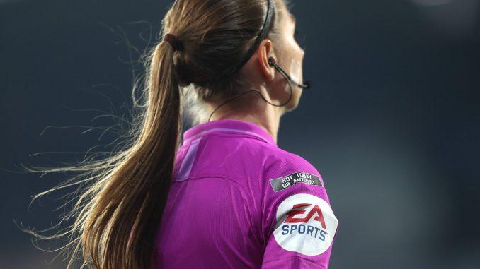 Match official Sian Massey-Ellis.