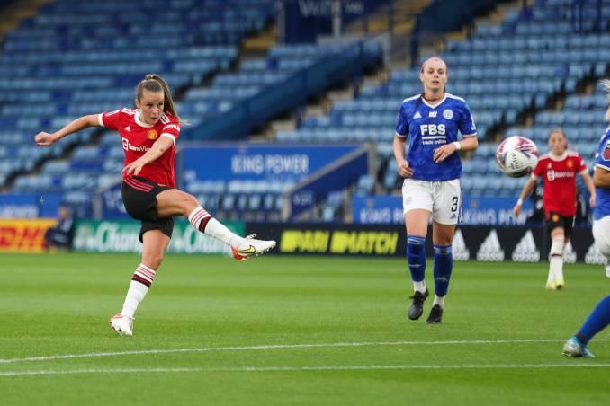 Manchester United's Ella Toone.