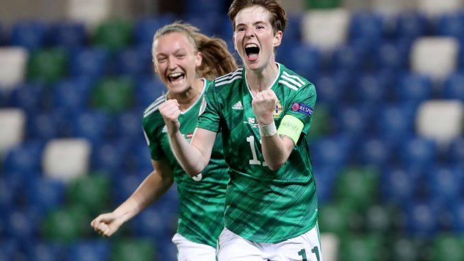 Kirsty McGuinness of Northern Ireland.