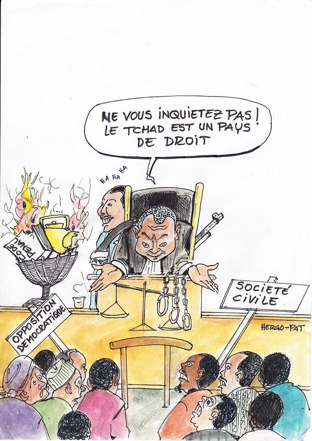 C Est De La Merde : merde, Justice, Nous,, C'est, Merde, Patronus, Tchad-vision