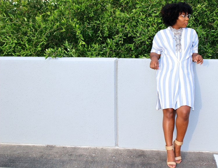 How to Style a Striped Dress