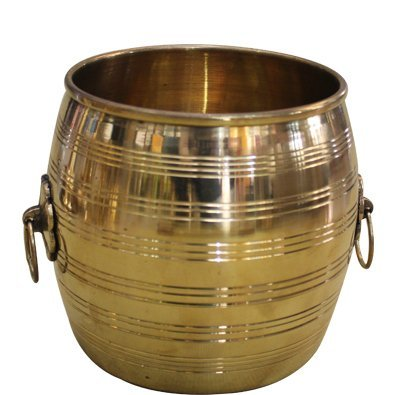 Traditional Kerala Nirapara Brass Container