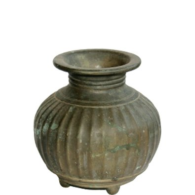 Antique Kaal Monda Bronze Pot Brass Vessel Antique