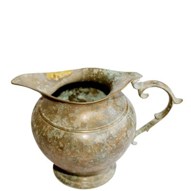Ayurveda Kasha Monda Antique Brass Milk Pot