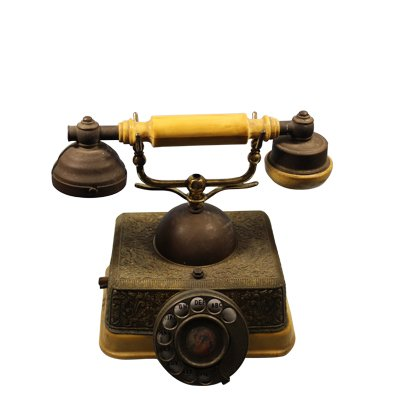 Round Dial Telephone Vintage Showpiece Buy Antique Table Phone