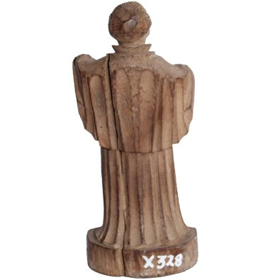 St Gregorios Idol Wooden Vintage Handicraft Small
