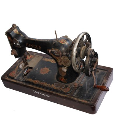 1901 Year Made Singer Sewing Machine Antique