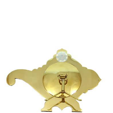 Aranmula Kannadi Temple Shankh with Back Stand