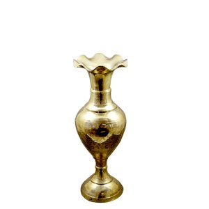 Flower Vase Brass Made for Home Decor Showpiece