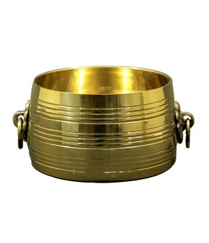 Changazhi Traditional Brass Measuring Vessel