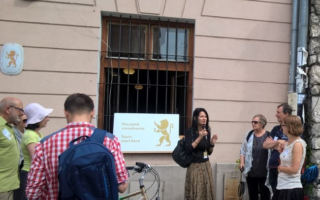 The Kazimierz Synagogues' Tour, the Jewish Culture Festival 2017. Photo by Anna Niedźwiedź.