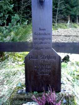 Bild 10: Inschrift am Kreuz