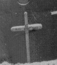 Missionskreuz an der alten Kirche