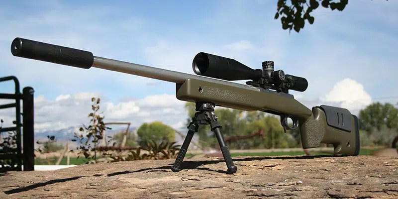 Custom Bolt Action Rifle